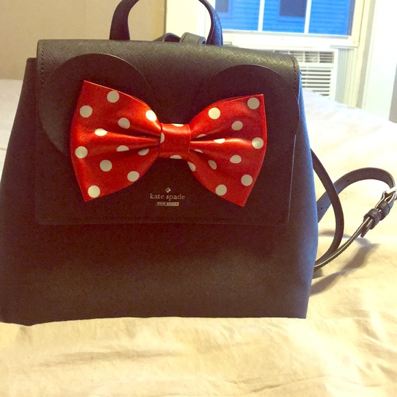 fcfa0375f6c Kate spade Minnie Mouse backpack NWT